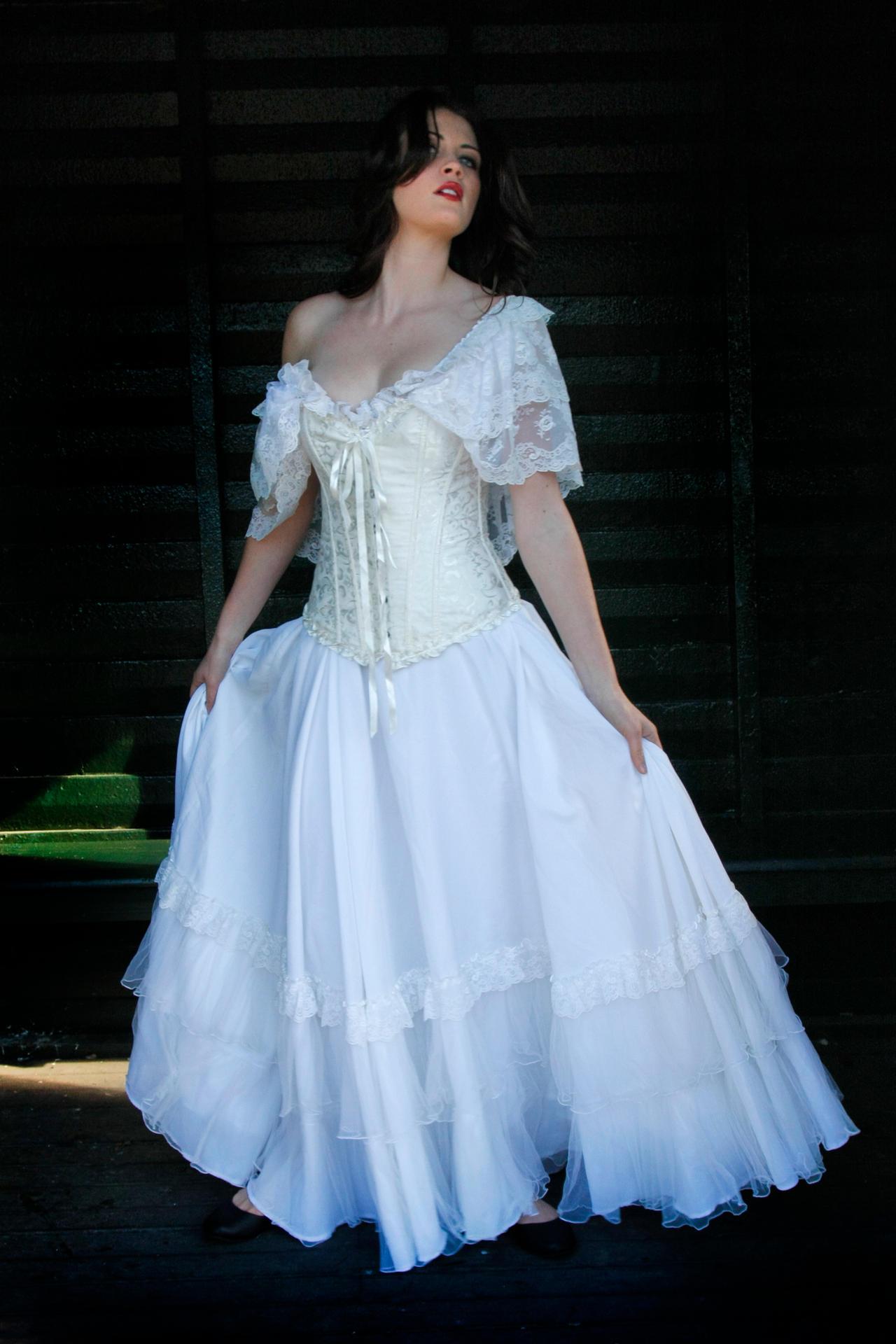 Danielle white dress 26