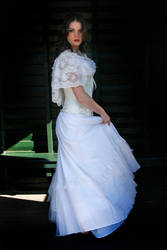 Danielle white dress 27