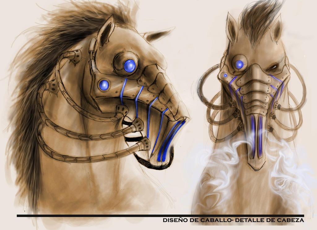 Deviantarts Robot Horse: Horse Robot By LoboRjo On DeviantArt