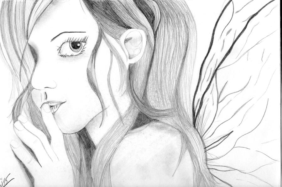 Fairy Drawing by Sketched-Out-Jess on DeviantArt