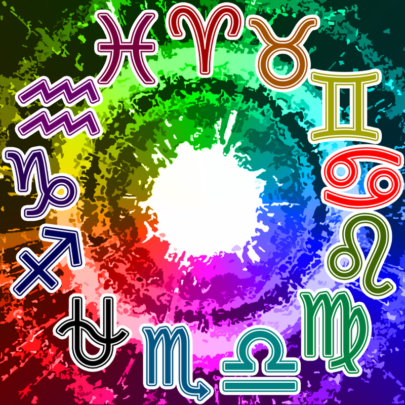 Circle of Zodiac and Colors by SolarBladeArtifexOphiuchus Homestuck
