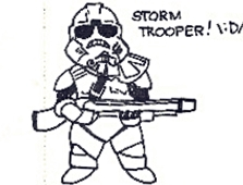 Storm trooper by heygray