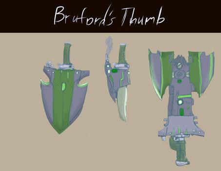 KA Bruford's Thumb