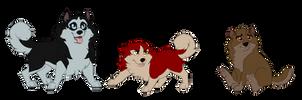 Puppers by DragonWithAShotgun