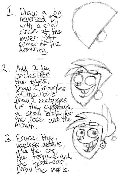 comment dessiner timmy turner