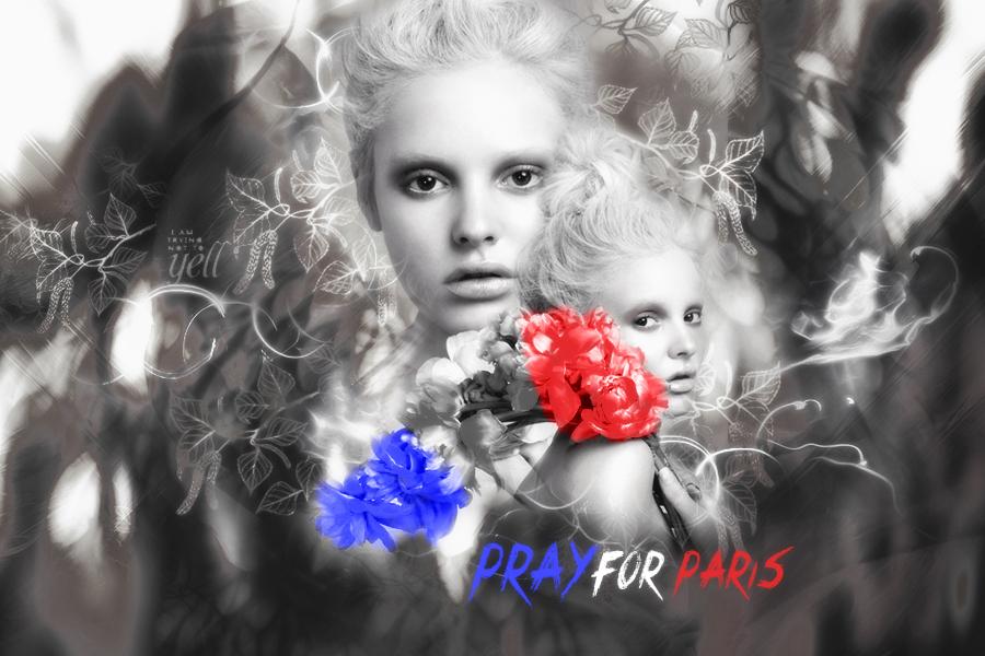 PRAY FOR PARIS by BornToDie420