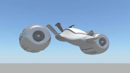 Spacecraft concept. by lycanosis