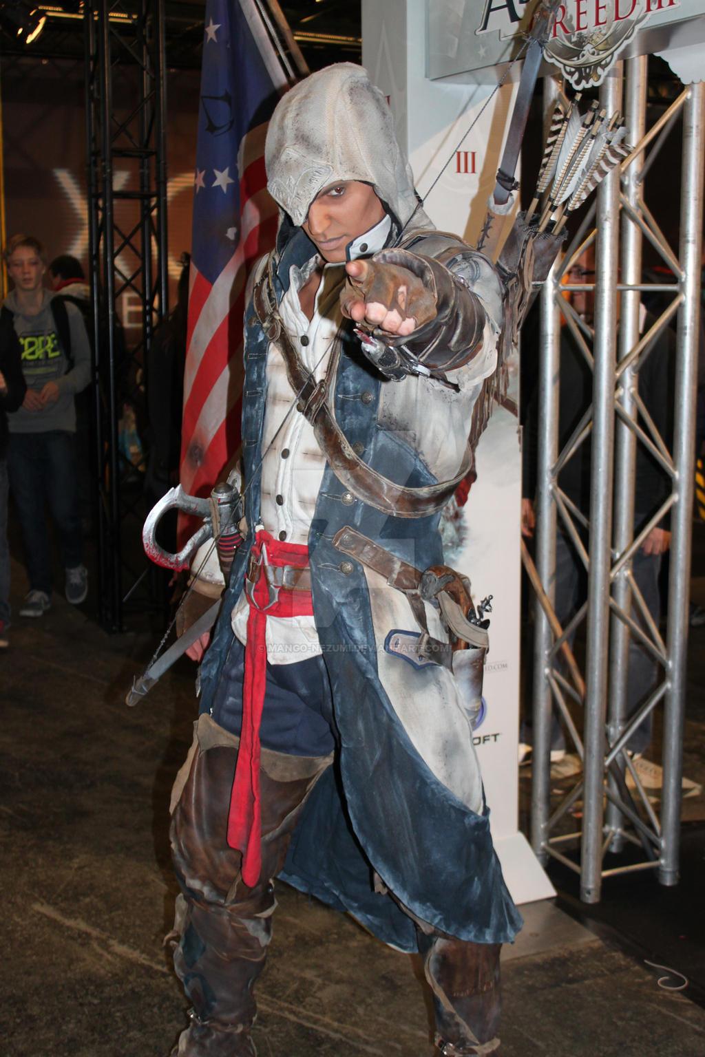Assassin's Creed III cosplay by Mango-Nezumi