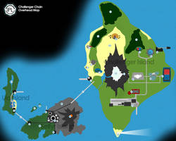 Challenger Chain Overhead Map by Pokemon-League