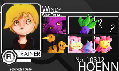 Trainer-Windy by Pokemon-League