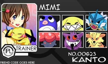 Trainer-Mimi by Pokemon-League