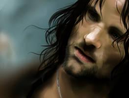 Speedpaint - Aragorn by IceColdXx