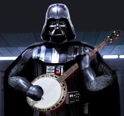 Darth Vader with a Banjo by RodneyzPc