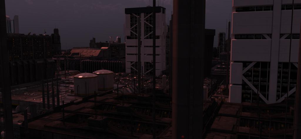 Cyberpunk City 2 by draperx