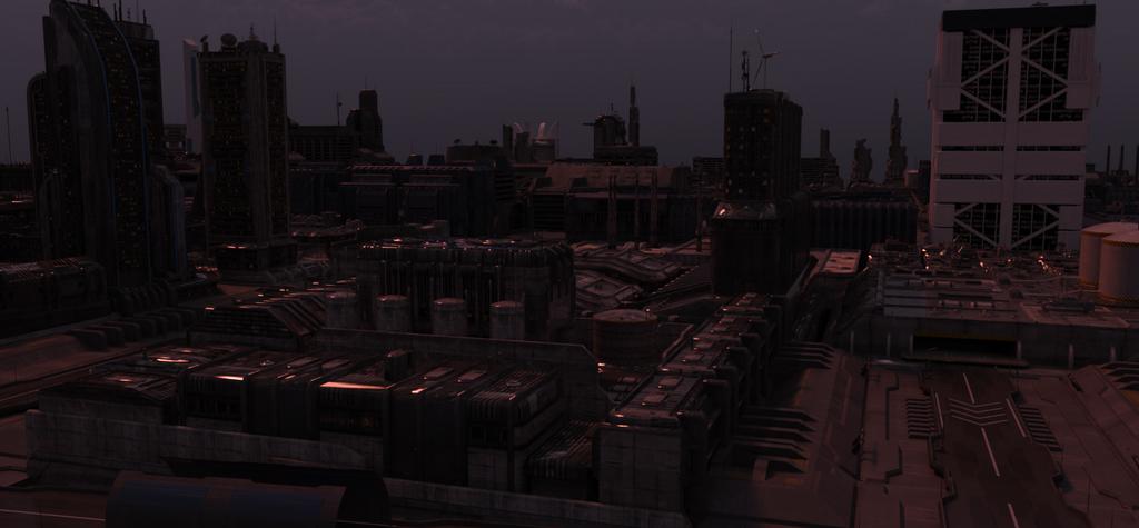Cyberpunk City by draperx