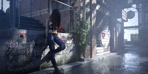 Goth Girl 63 by draperx