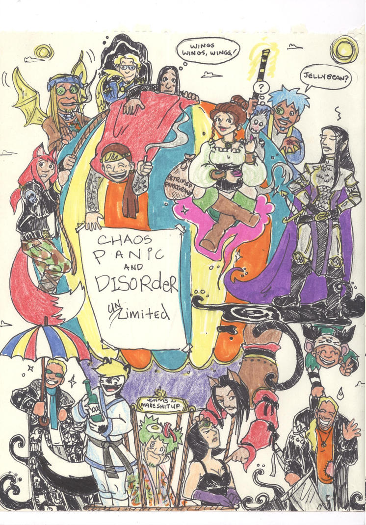 I-Pod Sketches - Chaos Realm By Popular Demand by supremetechgoddess