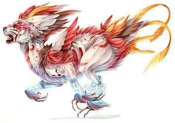 Electric dragon by kankakanka
