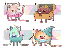 -- Potatoe Animals (Potatanimals) -- 3 OPEN!!! by Law-Adoptables