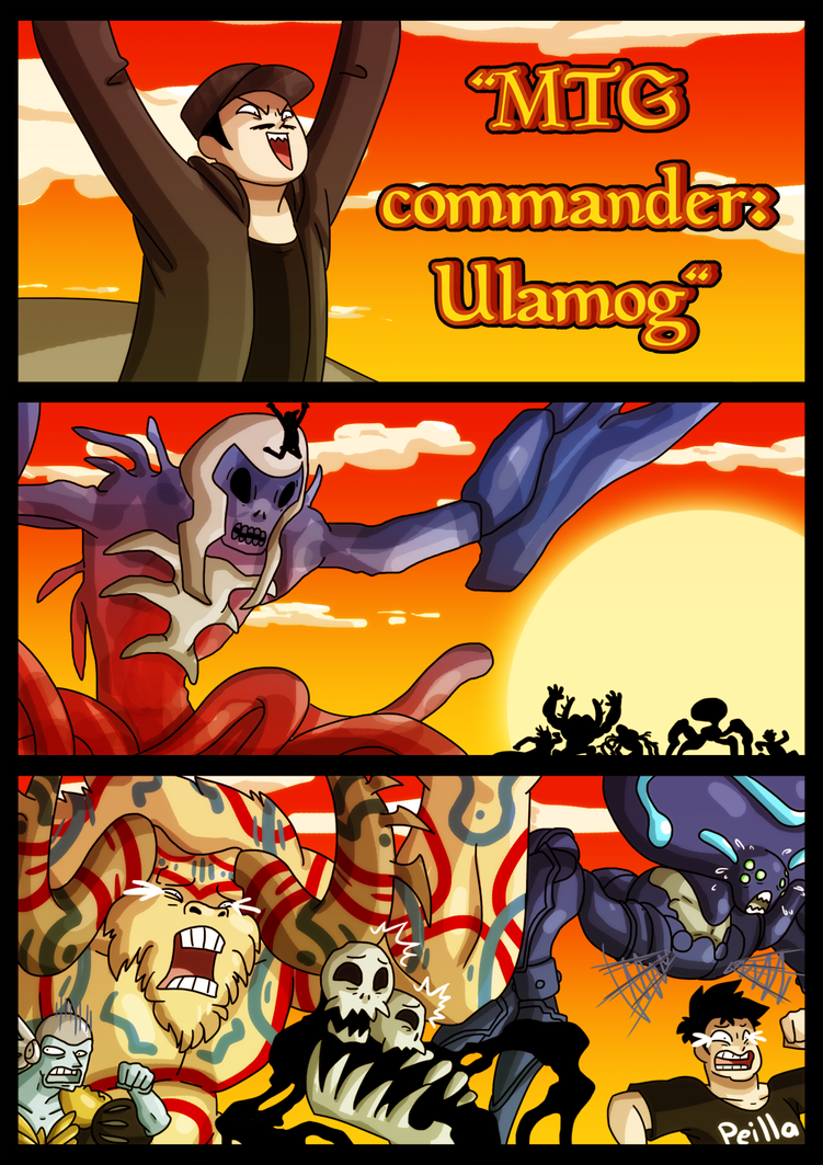 edh:colorless commander ulamog by themurphler on DeviantArt