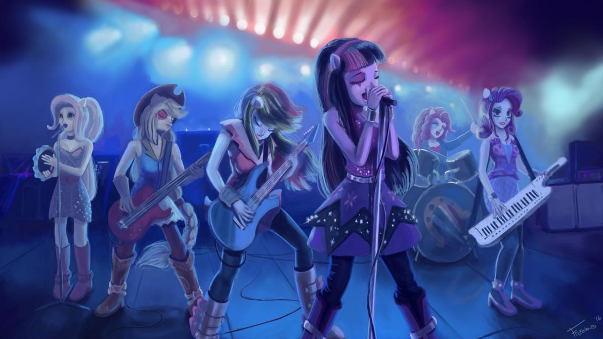 Bass equestria girls