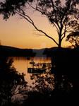 LEWISHAM AT SUNSET by chrissyfromtassie