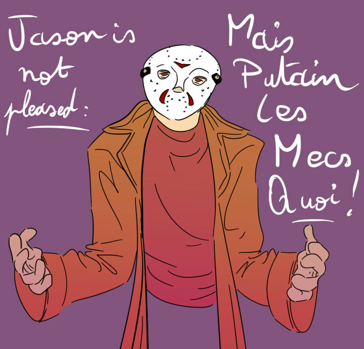 Jason is not pleased, you idiots by DyDiKing