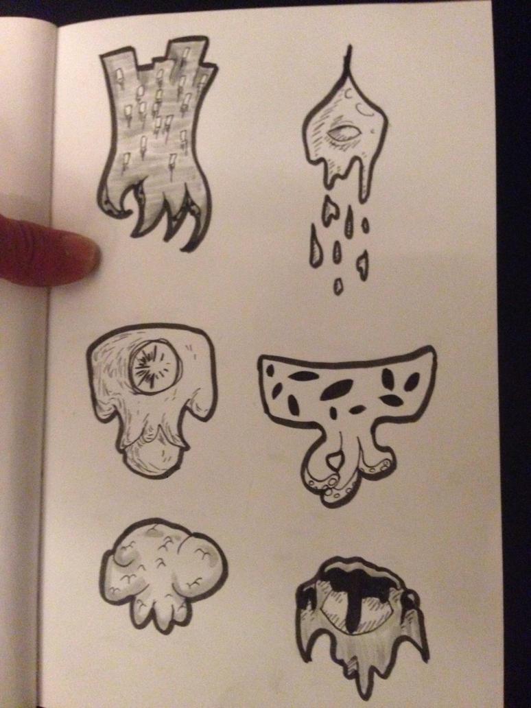 Stickers-like Cthuluh 6 by DyDiKing
