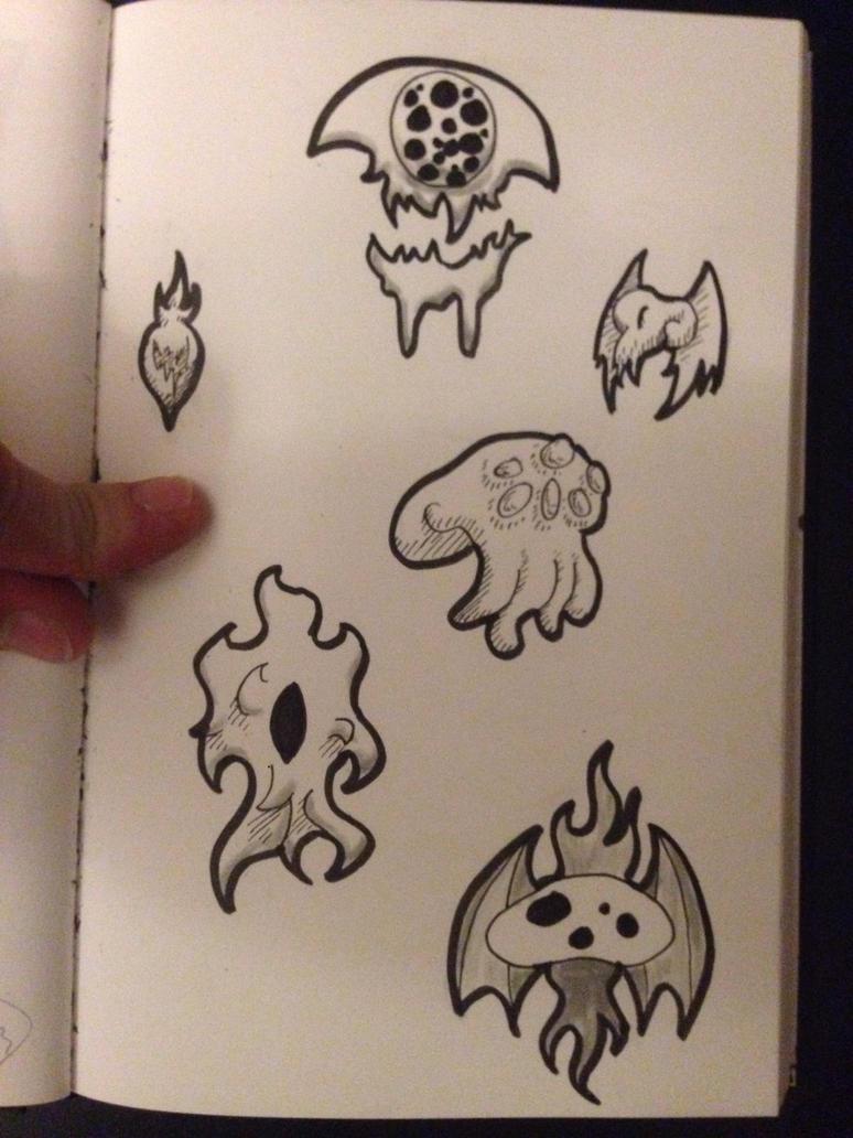 Stickers-like Cthuluh 7 by DyDiKing