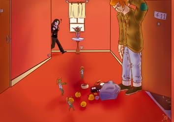Harry, Marjo et les Elfes
