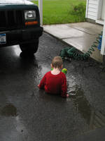 Puddle Playin by Katalalyn