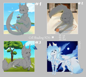 [YCH] Auction - Cell Shading [OPEN(3/3)]