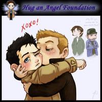 Hug an Angel Foundation meme by JoannaJohnen