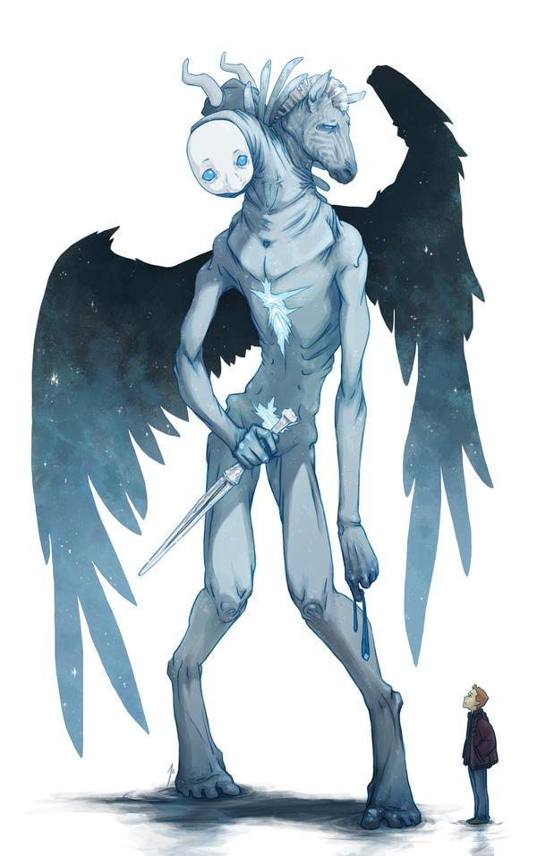 ¿Cómo son los ángeles? Trueform_cas_by_joannajohnen-d59cilf