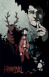 Hannibal Comic Cover