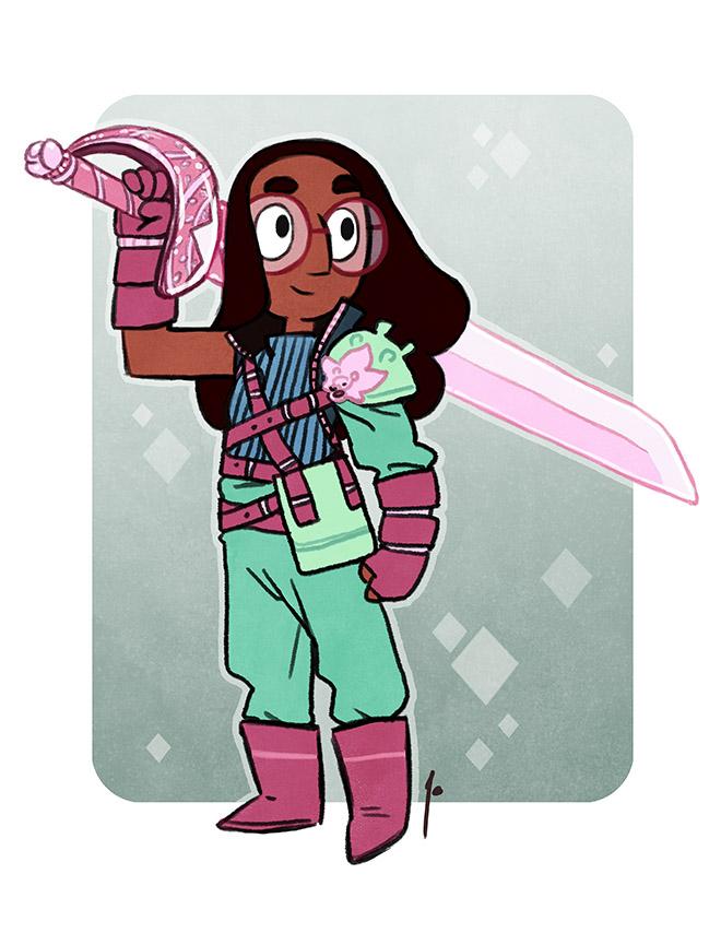 SU - Sword Fighter Connie by JoannaJohnen