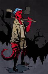 Hellboy Hipsters - 01 Hellboy
