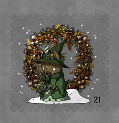Winter Advent - day 21
