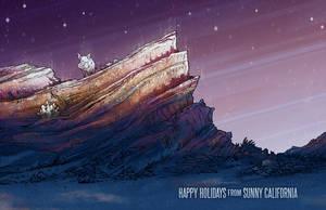 Winter Holiday Card 2017 by JoannaJohnen