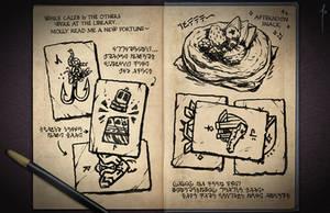 Jester's Sketchbook - spread 22 by JoannaJohnen