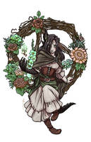 Flowers for Calianna by JoannaJohnen
