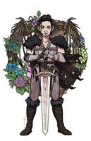 Flowers for Yasha by JoannaJohnen
