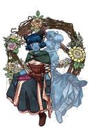 Flowers for Jester by JoannaJohnen