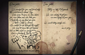 Jester's Sketchbook - spread 29 by JoannaJohnen