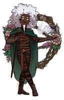 Flowers for Shakaste by JoannaJohnen