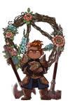 Flowers for Keg the Dwarf