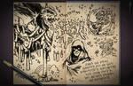 Jester's Sketchbook - spread 32