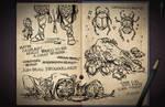 Jester's Sketchbook - spread 33