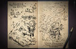 Jester's Sketchbook - spread 38