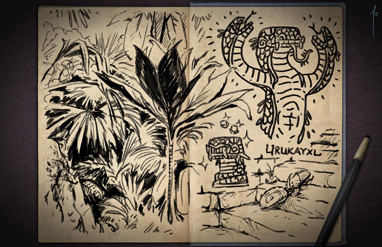 Jester's Sketchbook - spread 41 by JoannaJohnen